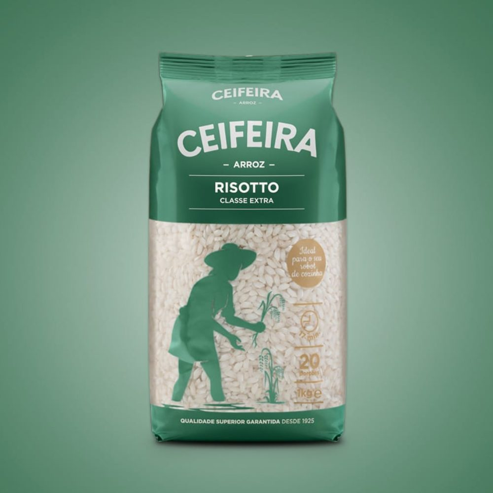 ceifeira arroz risotto clase extra